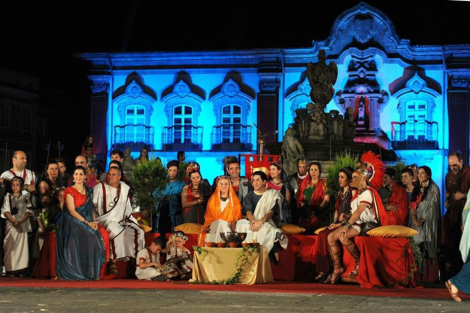 'Braga Romana' abre inscrições abertas para 'Casamento Romano'