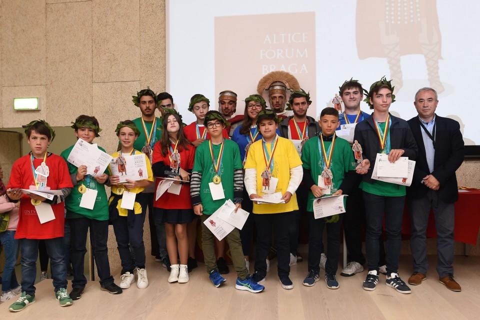 Altice Forum Braga foi palco da final do X Torneio de Jogos Romanos de Tabuleiro