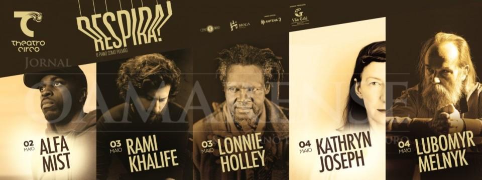 Braga - Alfa Mist, Lonnie Holley, Lubomyr Melnyk, Kathryn Joseph e Rami Khalife na 3.ª edição do 'RESPIRA!' (2 a 4 MAIO)