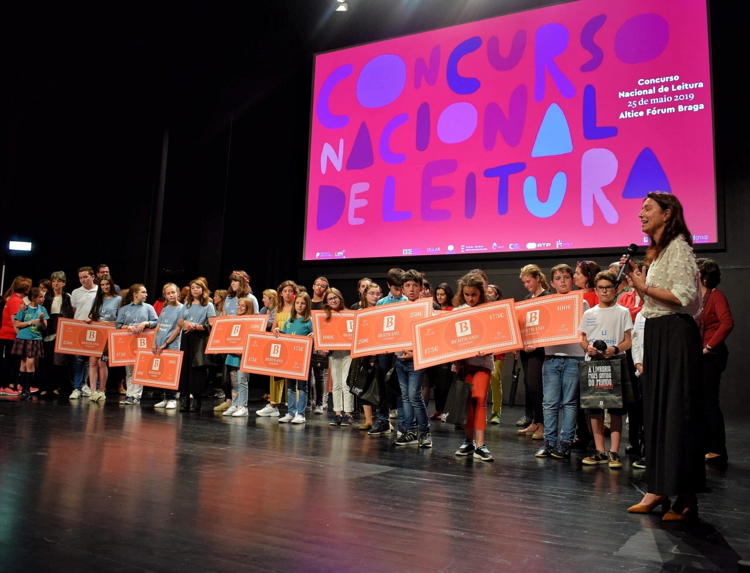 Braga recebeu fase final do Concurso Nacional de Leitura