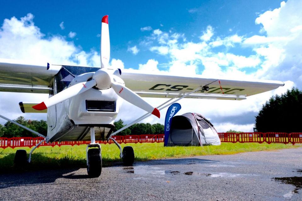 AERO Camping 'aterra' este fim-de-semana no Aeródromo de Braga