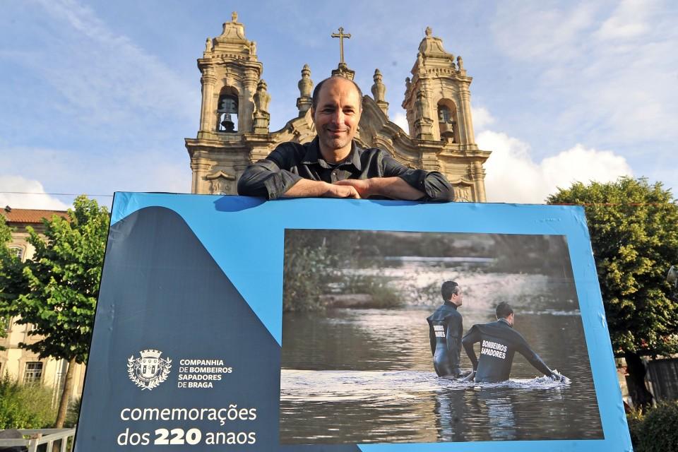 Mostra de Paulo Jorge Magalhães marca arranque das comemorações dos 220 anos dos Sapadores de Braga