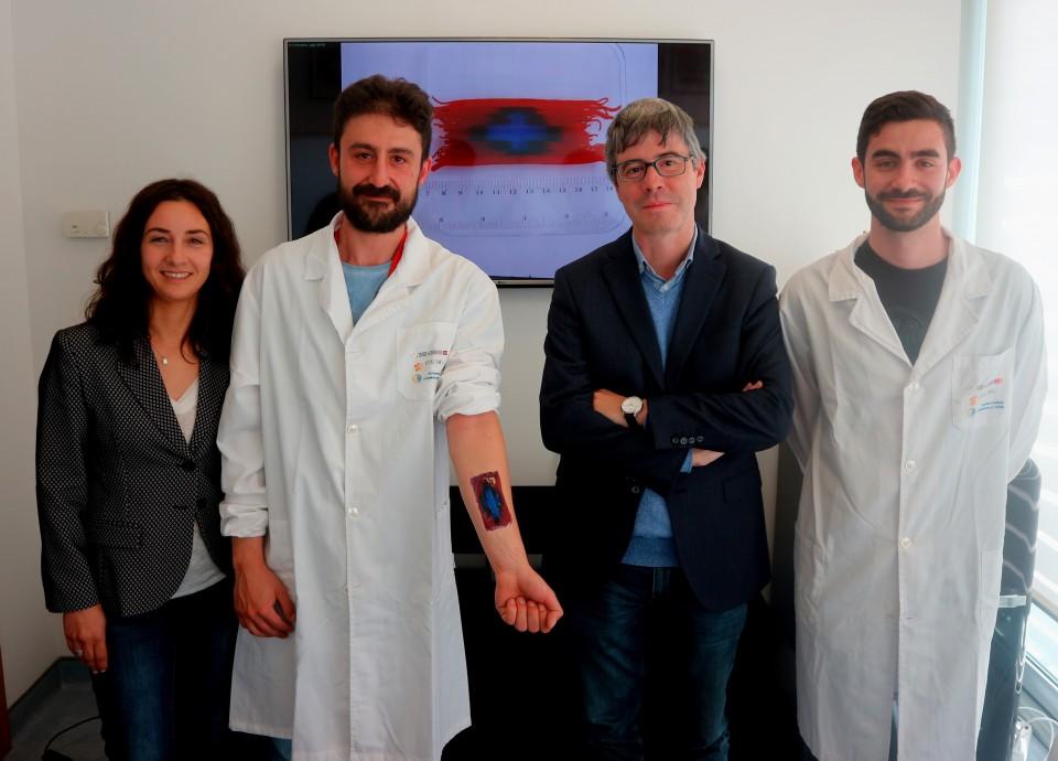 Cientista da UMinho recebe bolsa do Conselho Europeu de Investigação para desenvolver penso inteligente para feridas