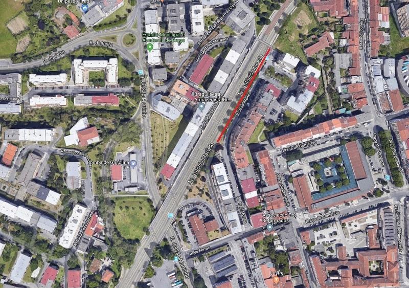 Infraestruturas de Portugal já arrancou com remoção de espécies arbóreas em Braga