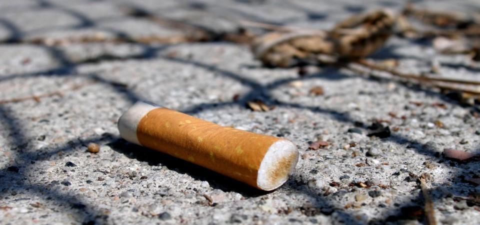 Parlamento aprova projecto de lei para punir quem atirar beatas de cigarro para o chão