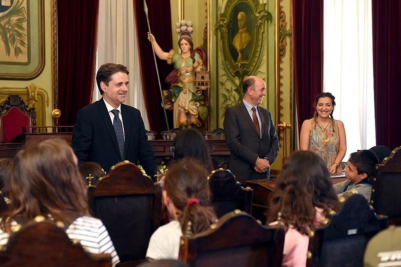 Câmara de Braga abre porta a meia centena de crianças e jovens participantes no programa 'Férias Fantásticas'