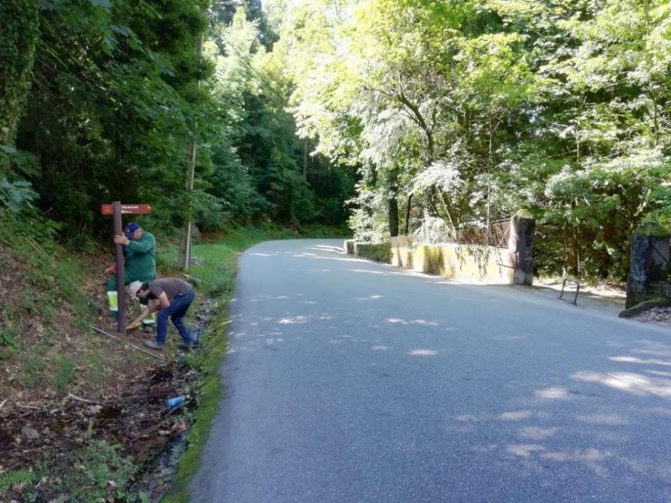 Terras de Bouro melhora sinalização dos trilhos pedestres