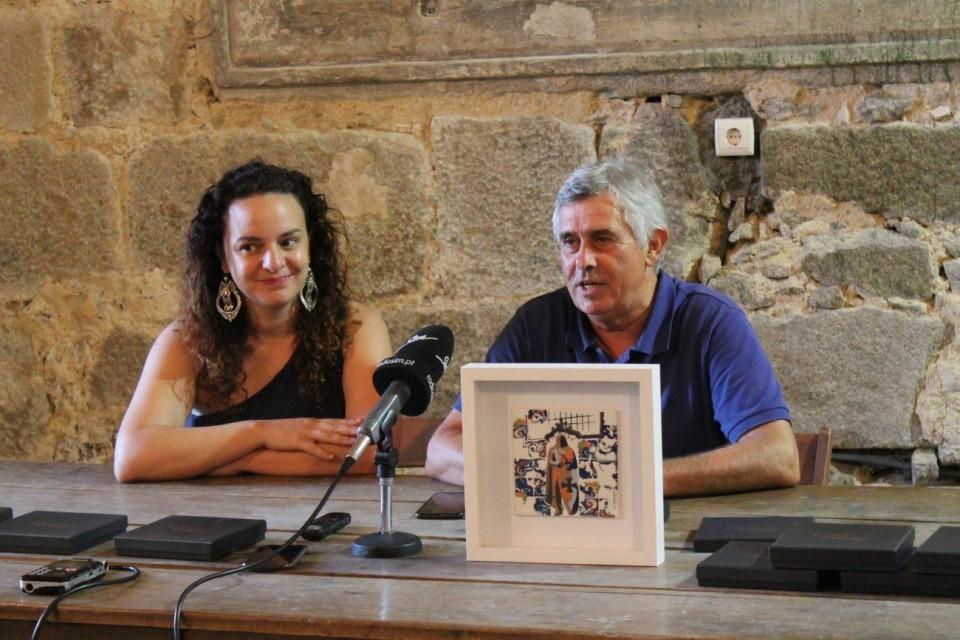 Sylvie Castro apresentou novo azulejo inspirado no património de Amares