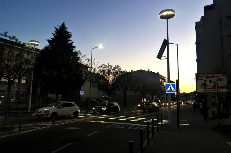 Equipamentos inovadores controlam iluminação de Braga