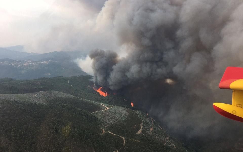 Portugal é o país com mais zona queimada da zona mediterrânica
