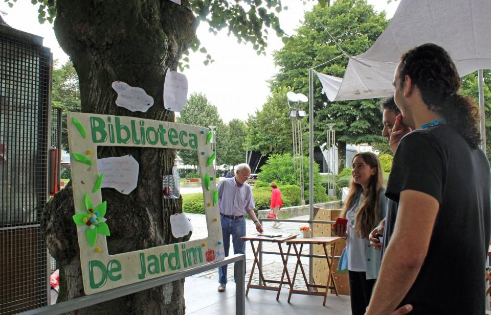 Biblioteca de Jardim de Braga recebeu 'A Inquietação dos trava-línguas'