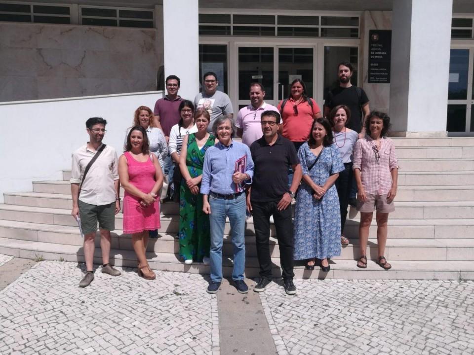 Bloco de Esquerda formalizou candidatura às Legislativas pelo distrito de Braga