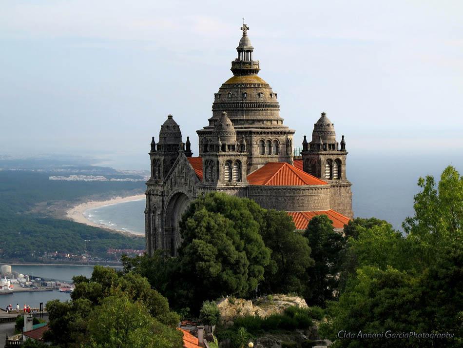Viana do Castelo - História da construção do Santuário de Santa Luzia marca cortejo da Romaria d'Agonia