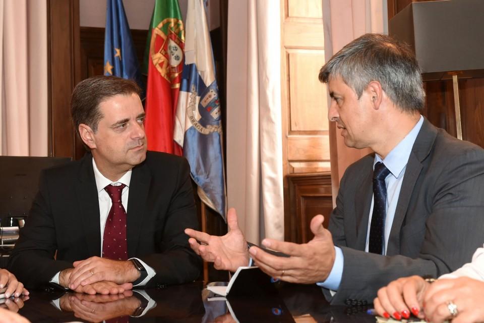 Ricardo Rio recebe novo conselho de administração do Hospital de Braga