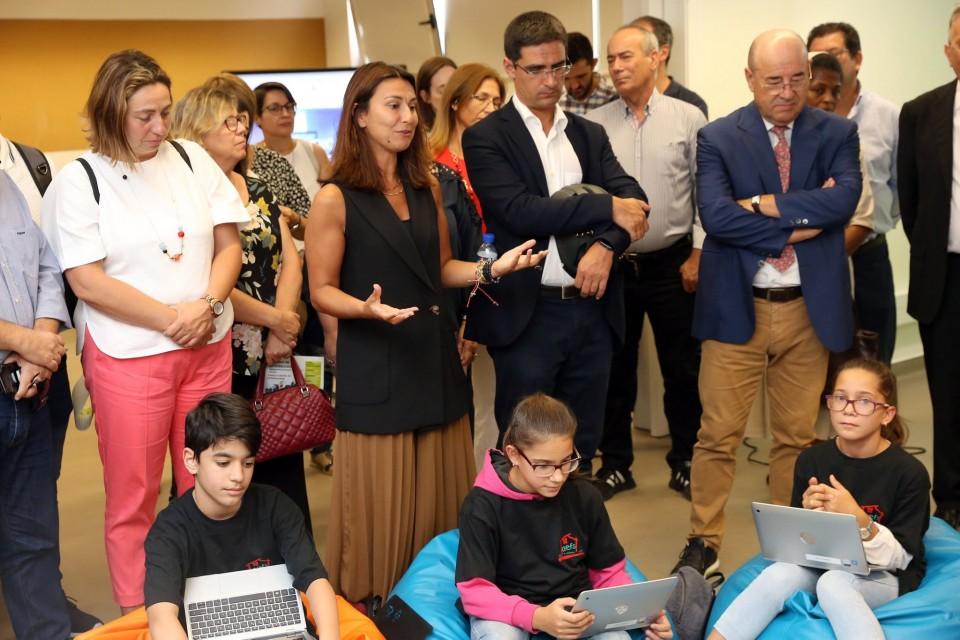 Braga: Agrupamento Francisco Sanches inaugurou 'Estúdio de Aprendizagem'