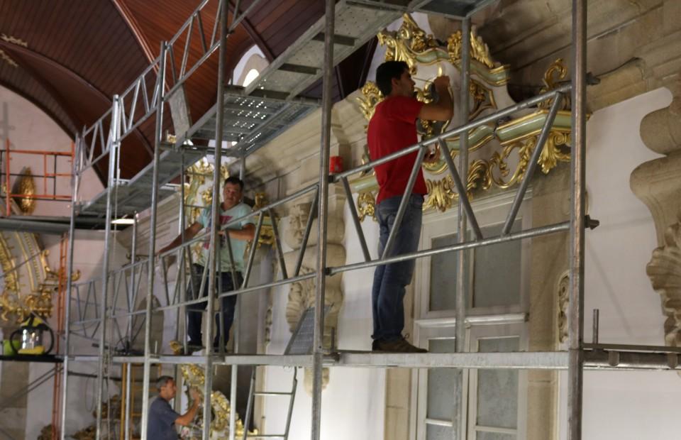 Reabilitação da Igreja da Misericórdia de Barcelos revela património artístico
