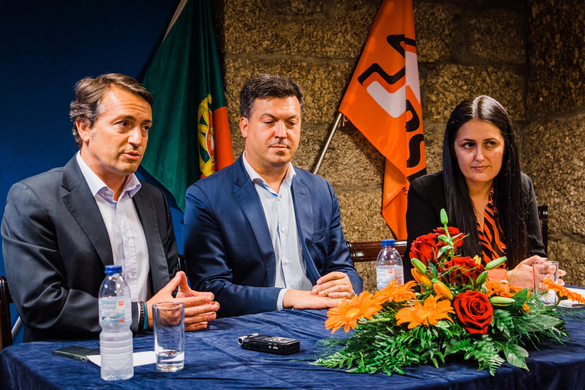 """Legislativas: André Lima denúncia em Vizela """"asfixia financeiras"""" das IPSS"""