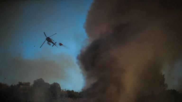 Piloto morre em queda de helicóptero de combate a incêndio em Valongo