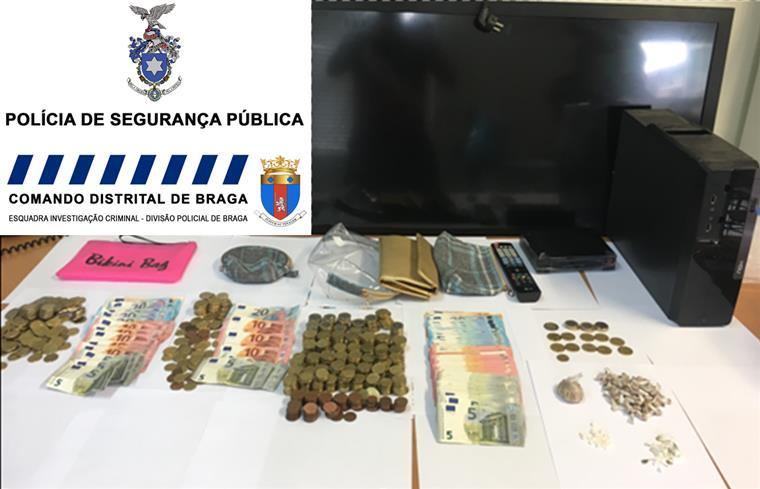 PSP detém casal por tráfico de droga em Braga