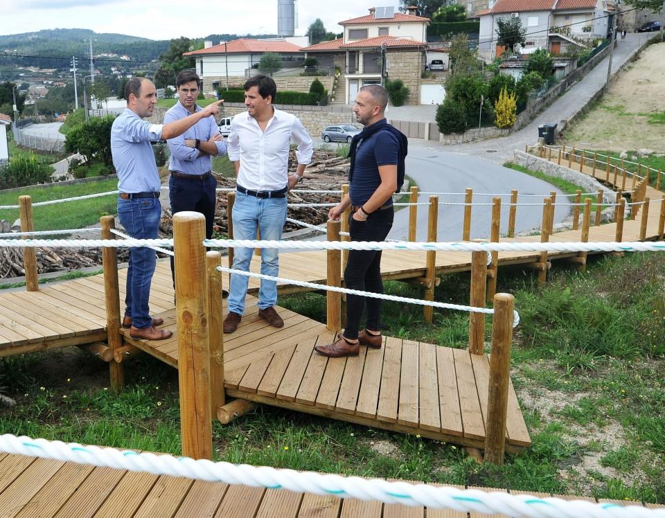Câmara de Braga atribui 30 mil euros a Priscos para instalação de passadiço e de jardim público