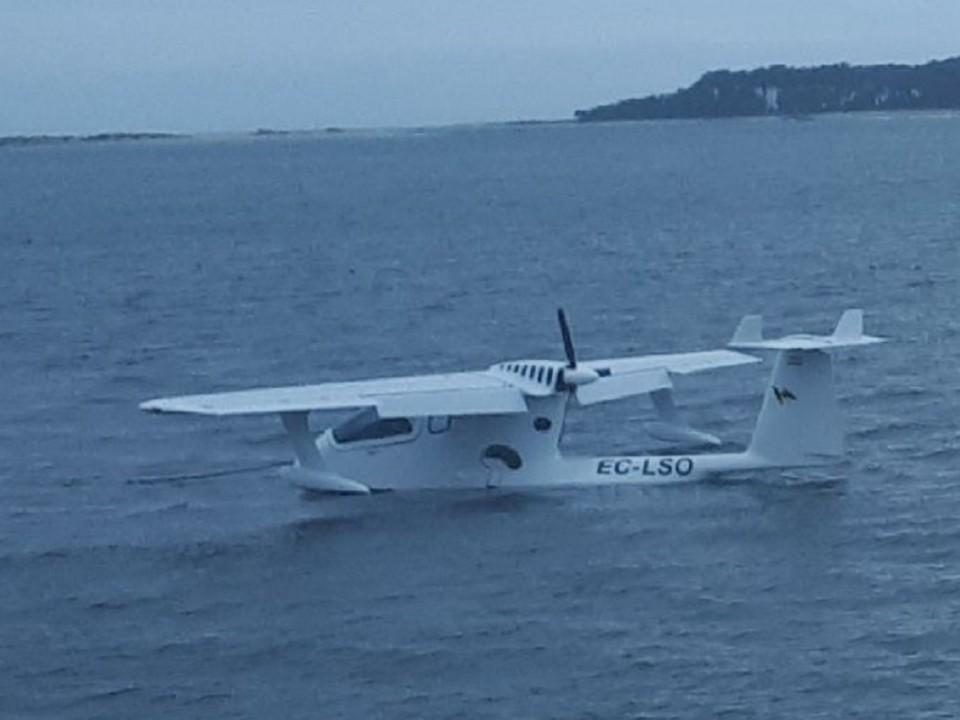Avioneta espanhola amara de emergência no rio Minho devido a problemas técnicos