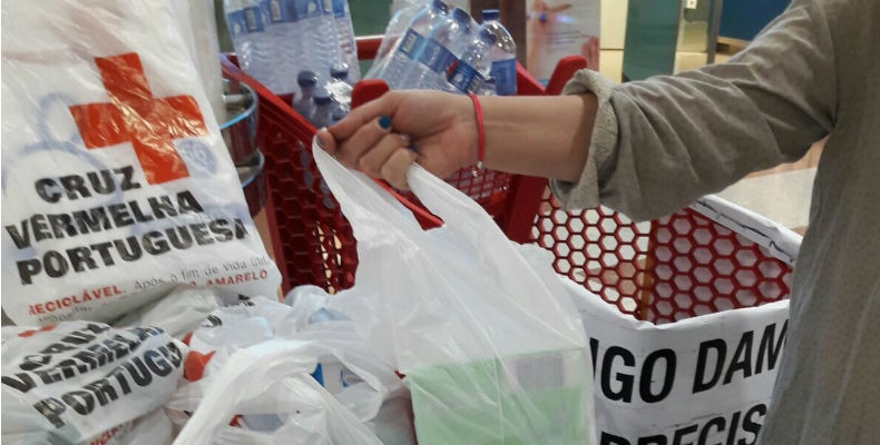 """Braga oferece à Cruz Vermelha 25 mil produtos alimentares para combater """"pobreza extrema"""""""