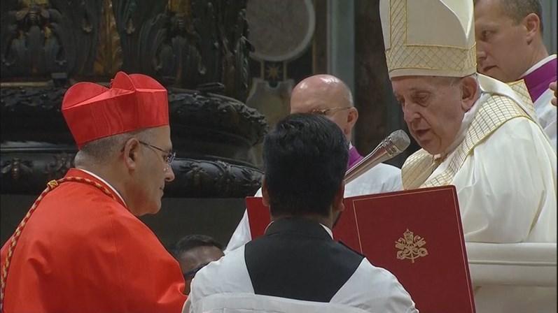 """Presidente da República saúda cardeal Tolentino Mendonça, o """"facilitador de encontros"""""""