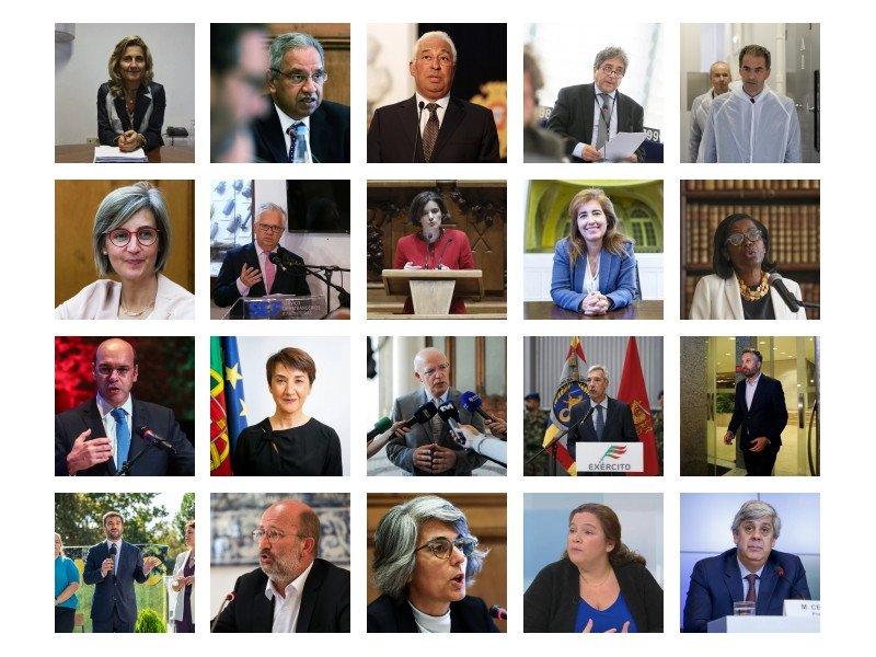 XXII Governo Constitucional com 19 ministérios, o maior de sempre