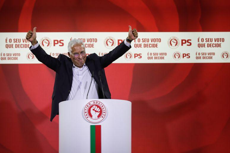 ELEIÇÕES - PS vence sem maioria mas reforça bancada parlamentar com mais 7 deputados