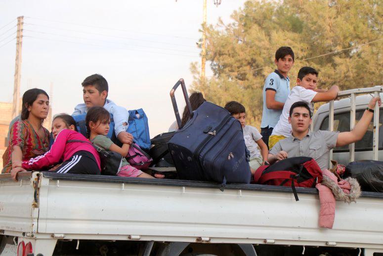 Ofensiva turca no nordeste da Síria faz entre 60.000 a 90.000 deslocados