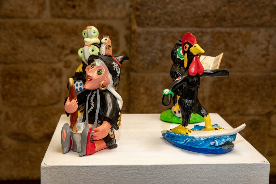 Torre de Menagem de Barcelos mostra figurado de Lourdes e Domingos Ferreira