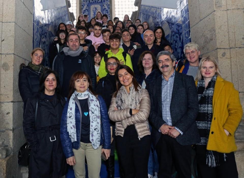 Participantes do 'Water Up!' em Braga