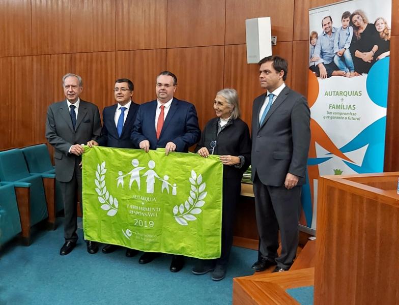 Braga recebe pela sexta vez Bandeira Verde de 'Autarquia Familiarmente Responsável'