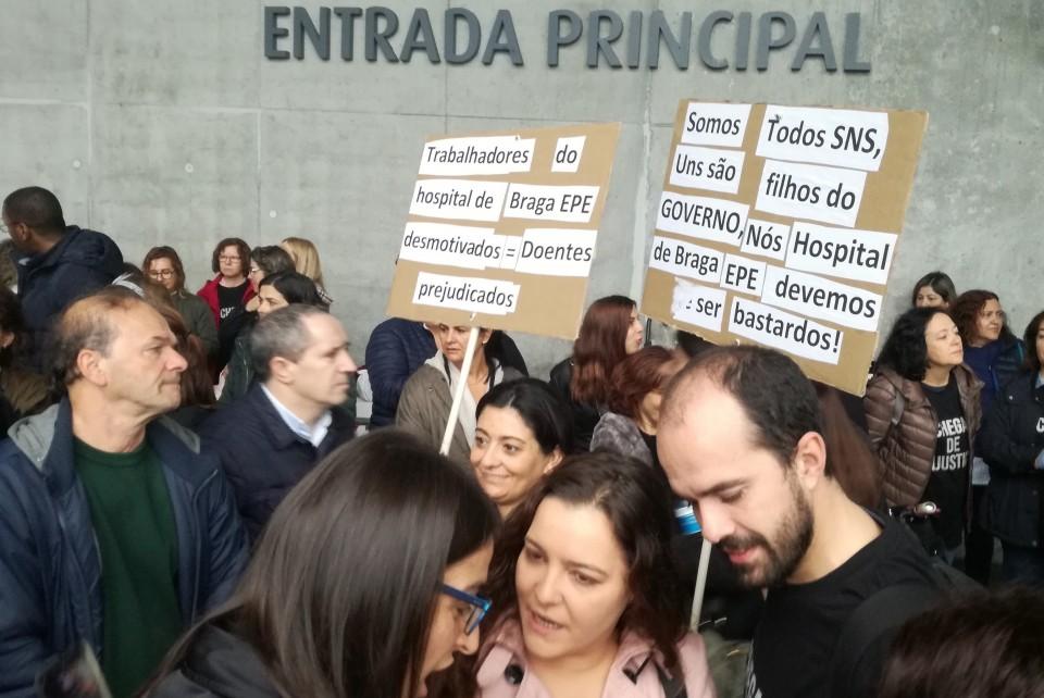 PCP questiona Ministério da Saúde sobre situação dos trabalhadores no Hospital de Braga