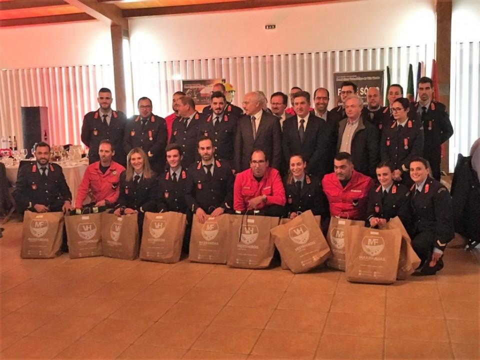 Bombeiros de Vila Verde recebem 33 equipamentos de protecção individual