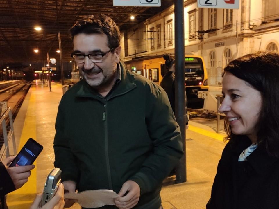 "Bloco quer investimento ""urgente"" na rede ferroviária no distrito de Braga"