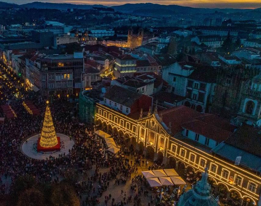 Braga 'acende-se' para o Natal dia 30