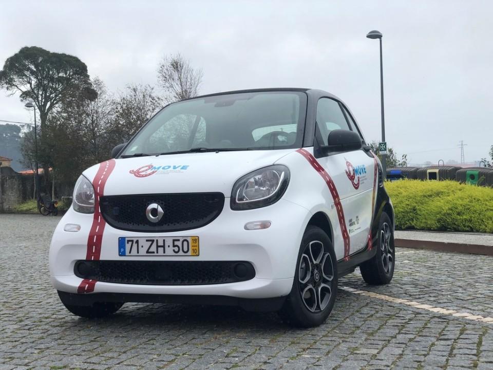 Carro eléctrico promove mobilidade sustentável em Esposende