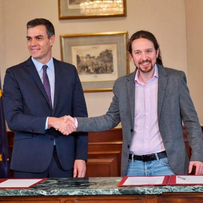 PSOE e Unidas Podemos criam 'geringonça' à espanhola