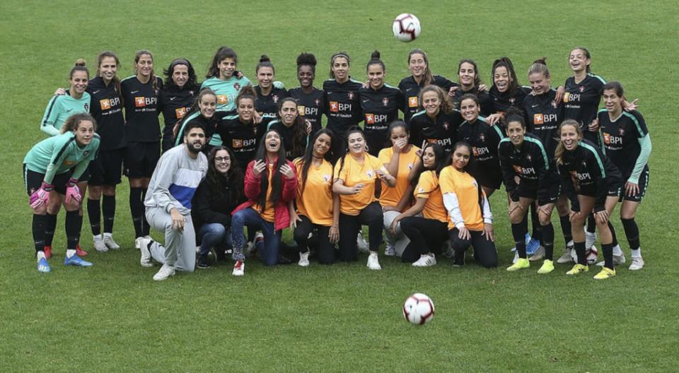 Futebol Feminino - Um golo importante contra a discriminação