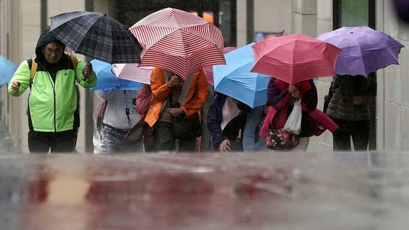 Braga e Viana do Castelo em alerta devido a vento forte, chuva e agitação marítima