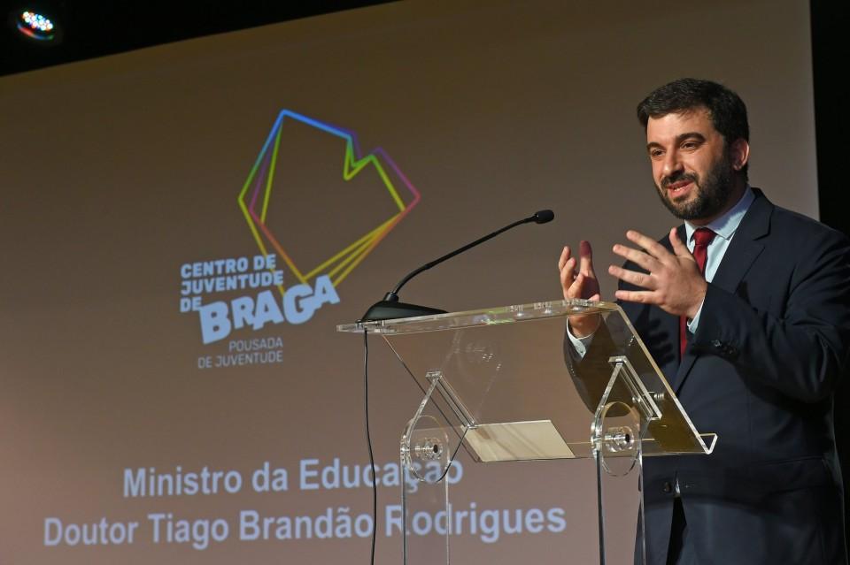 """""""Braga é capital nacional da mobilidade jovem em Portugal"""", diz ministro na inauguração do Centro da Juventude"""