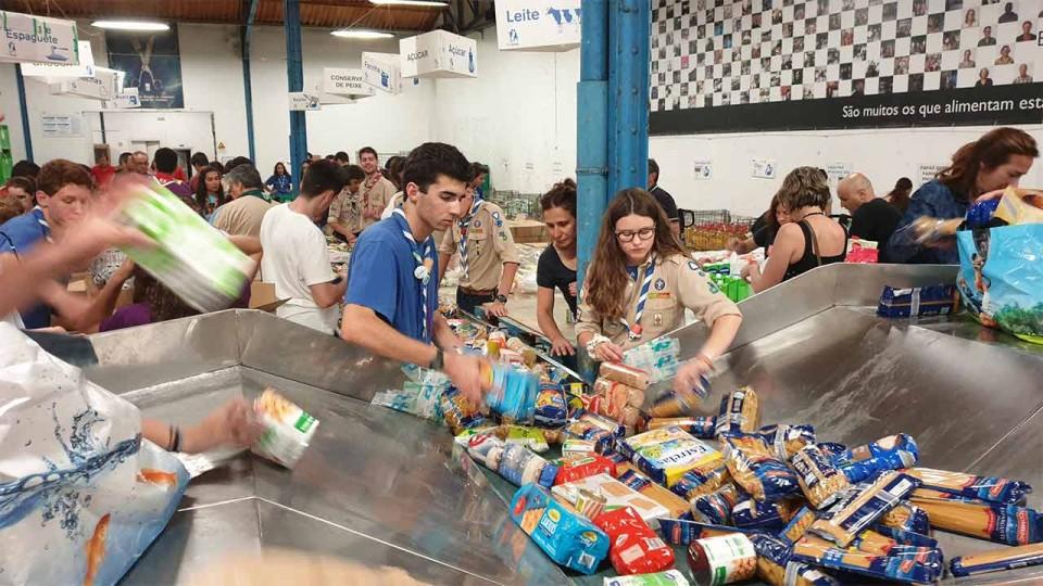Banco Alimentar contra a Fome de Braga recolhe 156 toneladas de alimentos