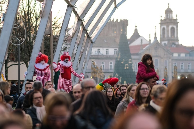 BRAGA - Parada de Natal cancelada devido ao mau tempo