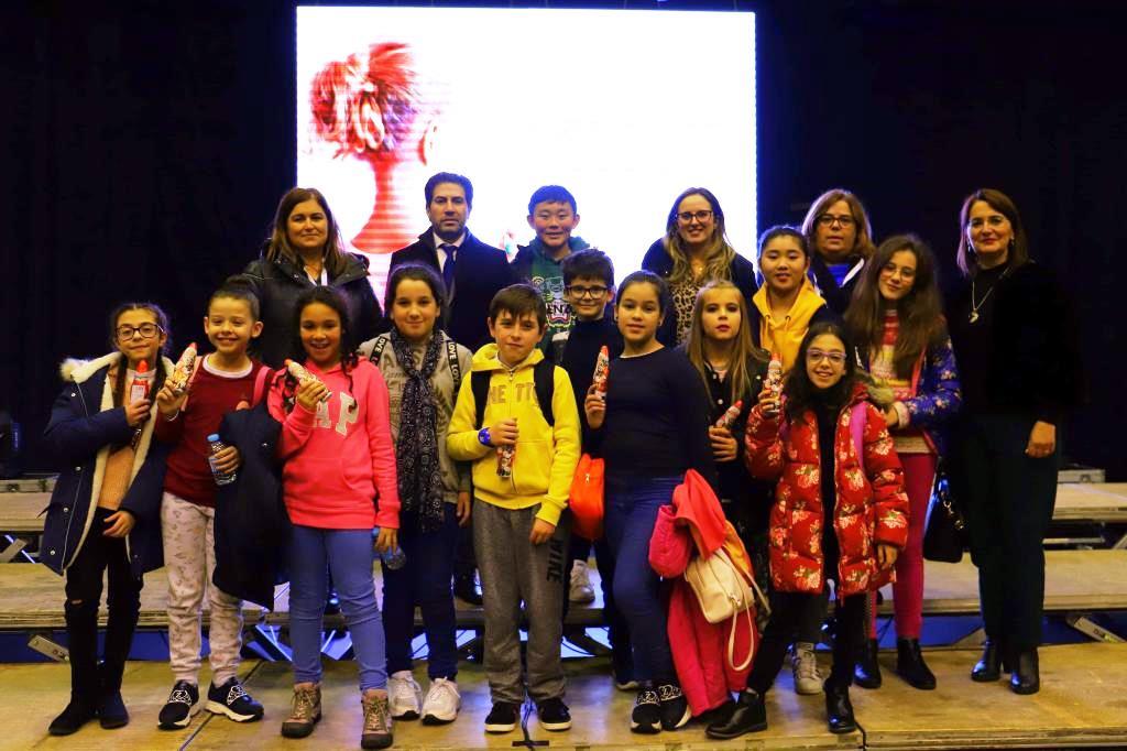 TERRAS DE BOURO - Agrupamento de escolas presente do sarau Juntos pelos Direitos de Todas as Crianças