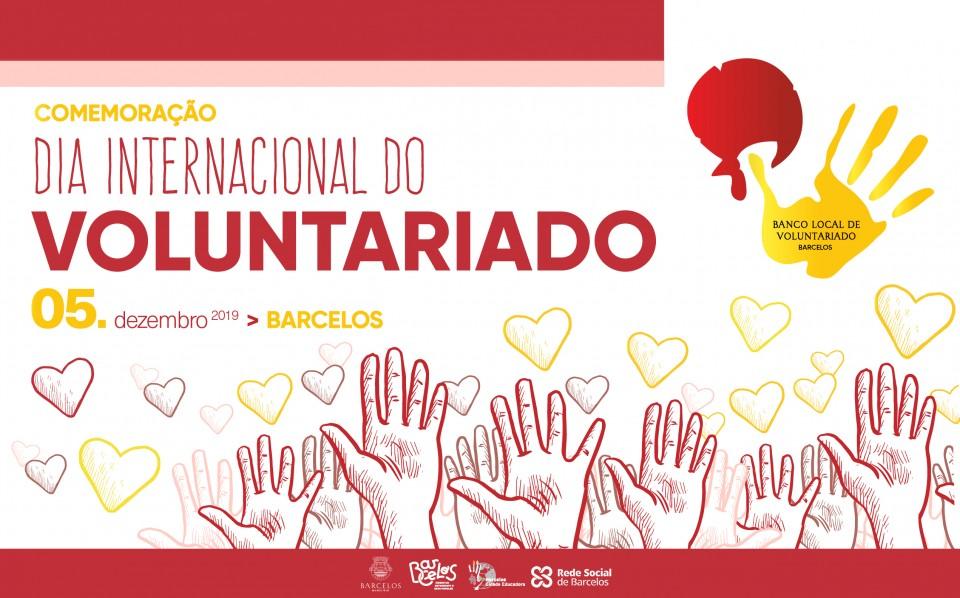 Barcelos comemora Dia Internacional do Voluntariado esta quinta-feira
