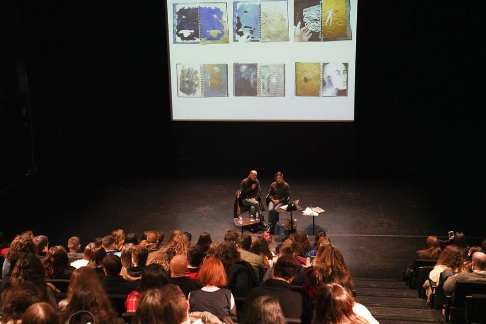 Bienal de Ilustração de Guimarães promoveu palestras para alunos da região norte