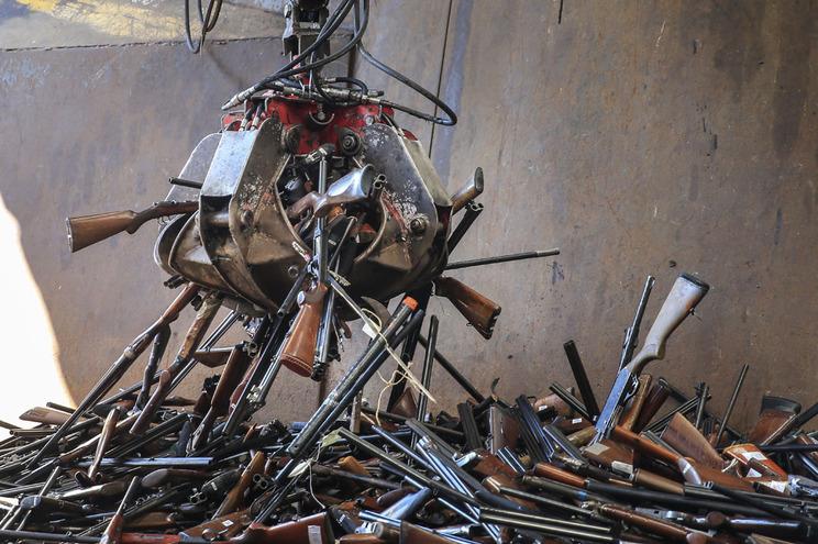 PSP destrói na Maia 13.767 armas de fogo na
