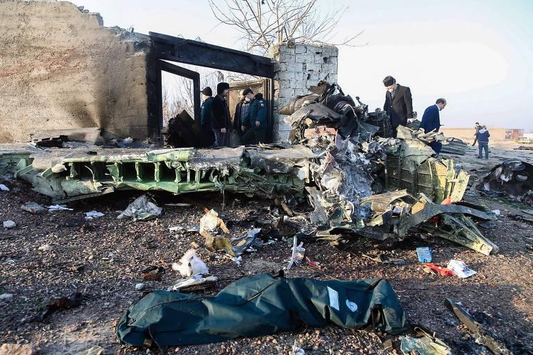 Secretário-geral da NATO acredita que avião foi derrubado por míssil iraniano