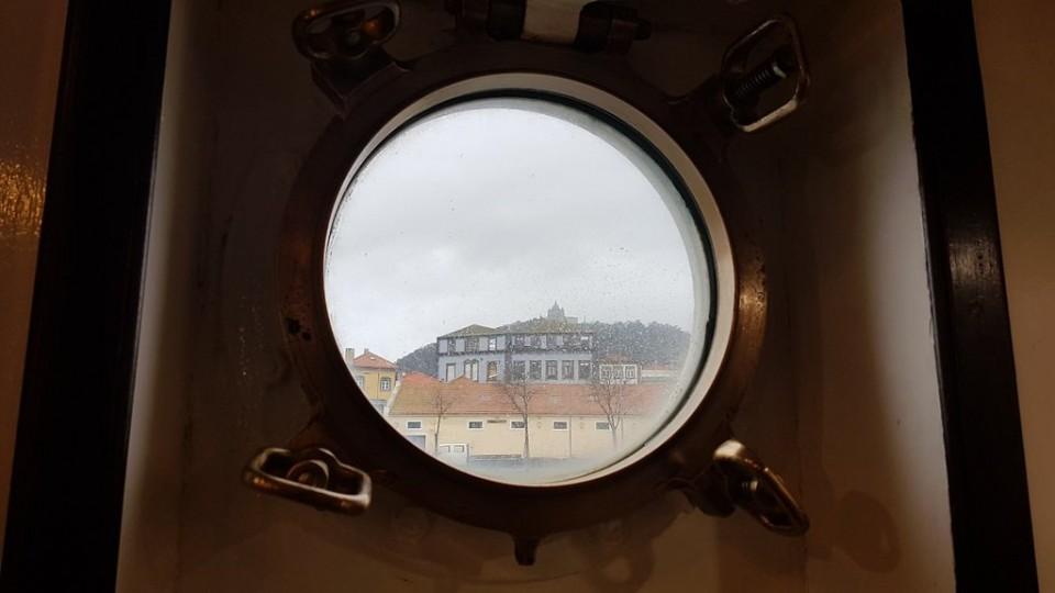 Navio Gil Eannes em obras para receber Museu Virtual da Memória Marítima